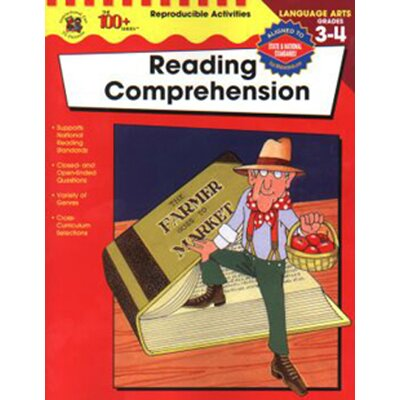 Frank Schaffer Publications/Carson Dellosa Publications Reading Comprehension Gr 3-4