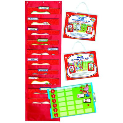 Frank Schaffer Publications/Carson Dellosa Publications Math File Folder Games To Go Set