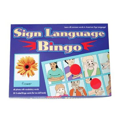 Garlic Press Sign Language Bingo
