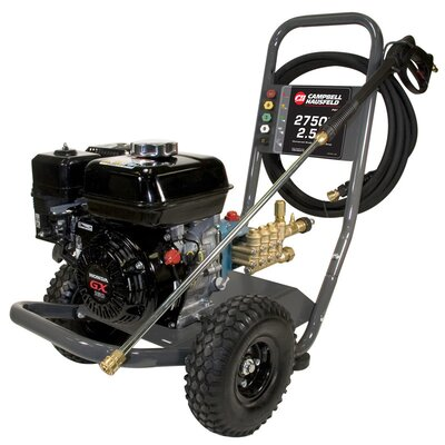 2750 PSI Gas Powered Pressure Washer with Honda GX160 Engine