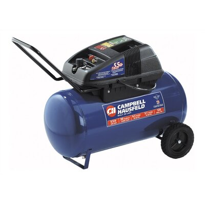 Campbell Hausfeld 20 Gallon Electric Oil Free Horizontal Air Compressor