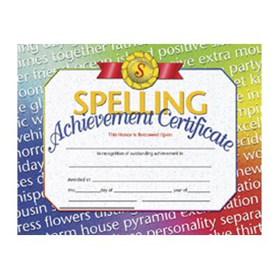 Hayes School Publishing Spelling Achievement 30/pk 8.5x11