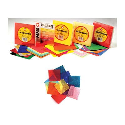 Hygloss Products Inc Tissue Paper 480 Squares Primary