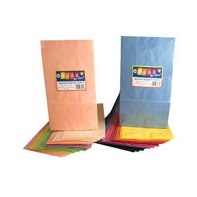 Hygloss Products Inc Colorful Paper Bags 6x9 Assorted Color