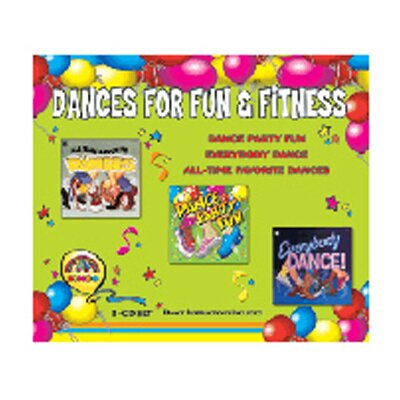 Kimbo Educational Dances For Fun & Fitness 3-cd Set