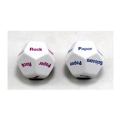 Koplow Games Inc Rock Paper Scissors Dice Game