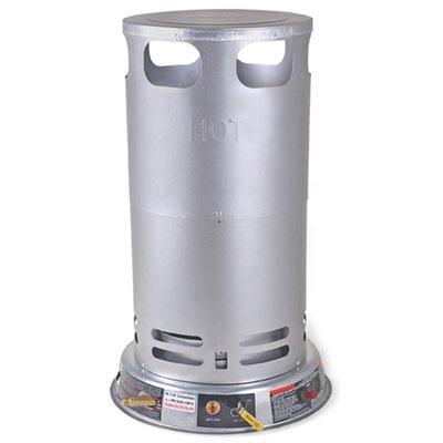 Gas-Fired Portable 200,000 BTU Convection Propane Tank Top Space Heater