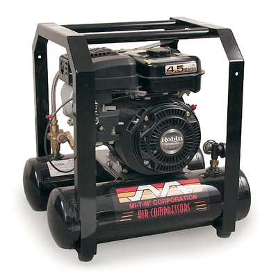 Mi-T-M 5 Gallon Gasoline Portable Single Stage Air Compressor