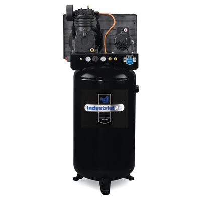 80 Gallon Two Stage Cast Iron Industrial Air Compressor