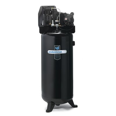 Powermate 60 Gallon Cast Iron Oil Lubricated Belt Drive Industrial Air Compressor