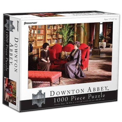 Pressman Toys Downton Abbey 1000 Piece Violet and Cora Puzzle