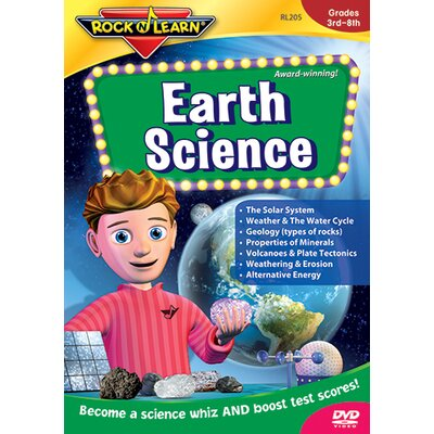 Rock N Learn Earth Science Dvd Gr 5 & Up