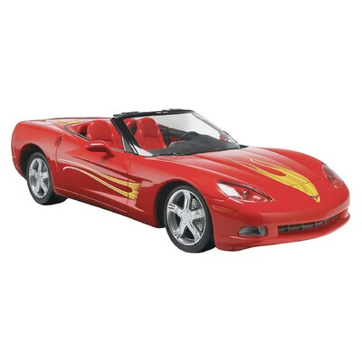 1:25 '05 Corvette C6 Convertible Plastic Model Kit
