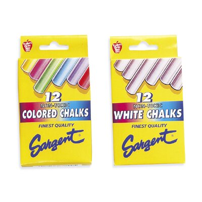 Sargent Art Inc Gothic Board Chalk Assorted Colors