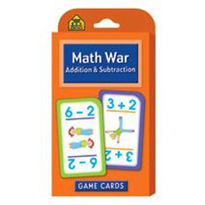 School Zone Publishing Math War Addition & Subtraction