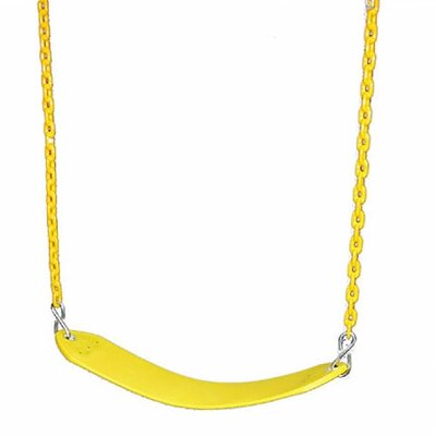 Gorilla Playsets Deluxe Swing Belt in Yellow