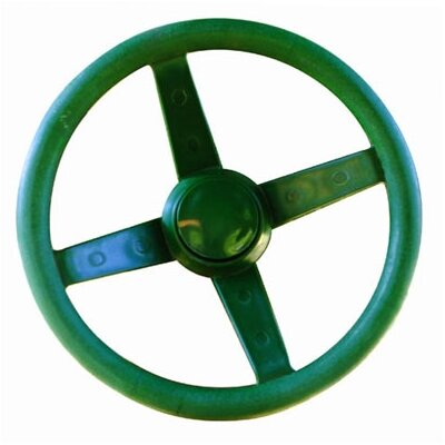 Gorilla Playsets Steering Wheel Swing Set Accessory in Green