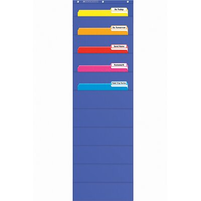 Teachers Friend File Organizer Pocket Chart Gr K-5