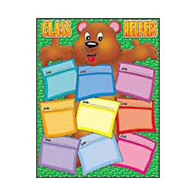 Teachers Friend Bear Helper Friendly Chart