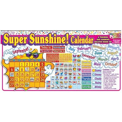 Teachers Friend Super Sunshine Calendar Bb