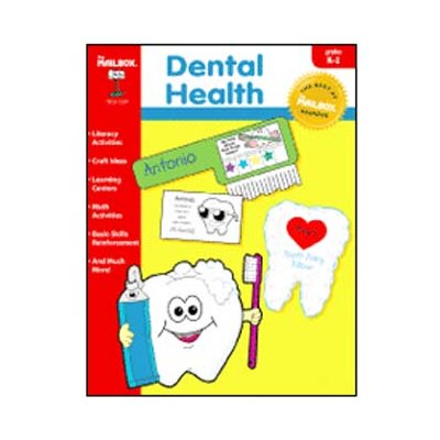 The Education Center Dental Health Theme Book Gr K-1