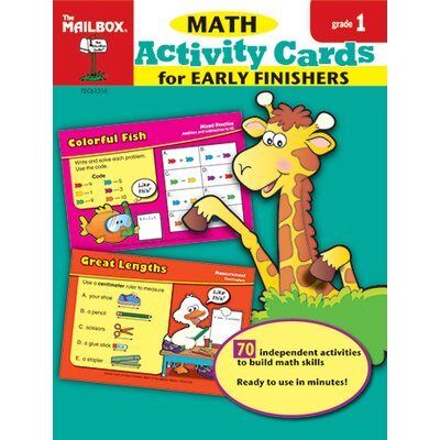 The Education Center Math Activity Cards For Early