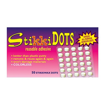 The StikkiWorks Co Stikki Wax Dots 50 Per Bag