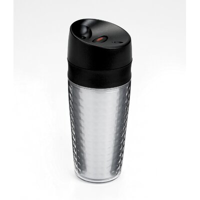 Liquiseal Travel Mug - Plastic (Textured) - Clear
