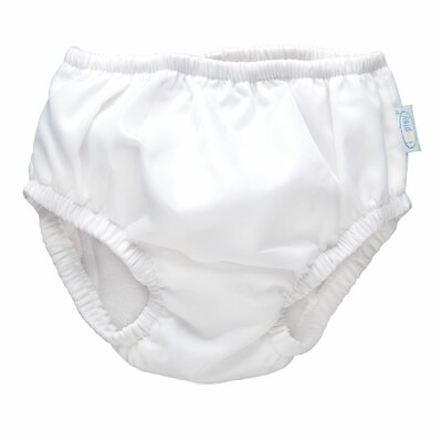 i play. Ultimate Swim Diaper in White
