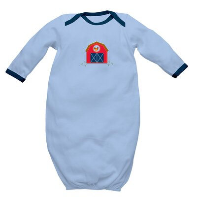 i play. Organically Grown Baby Gown-Farm