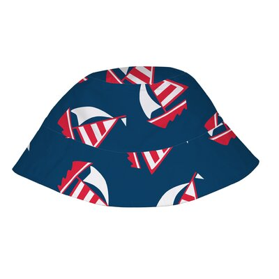 i play. Navy Sailboat Bucket Sun Protection Hat