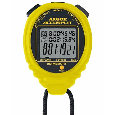 Accusplit Multi-Mode 100 Memory Stopwatch