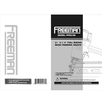 Freeman PFWS Professional Fine Wire Stapler
