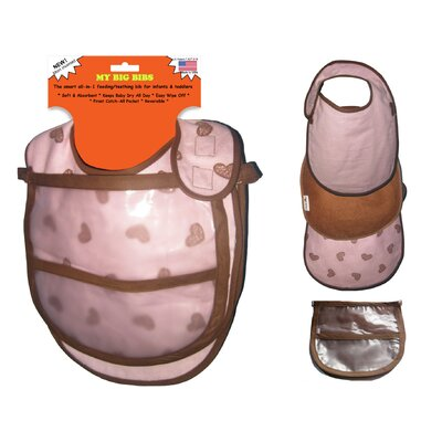 Teething / Feeding Reversable Bib Set