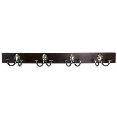 Spectrum Diversified 4 Hook Coat Rack