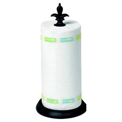 <strong>Spectrum Diversified</strong> Fleur de Lis Paper Towel Holder