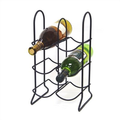 Townhouse 6 Bottle Tabletop Wine Rack