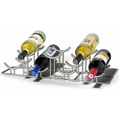 Spectrum Diversified Euro Hilo 7 Bottle Tabletop Wine Rack