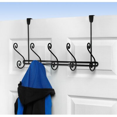 Spectrum Diversified Scroll  5-Hook Rack