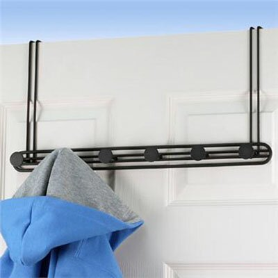 Spectrum Diversified Armstrong Over the Door Coat Rack