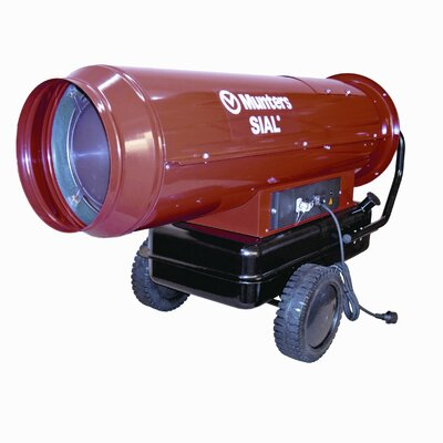 Munters Temporary 607,000 BTU Forced Air Utility Mobile Direct Fired Multi-Fuel Space Heater