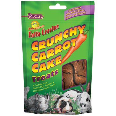 F.M. Browns Wildbird Falfa Cravins Crunchy Carrot Small Animal Treat - 5 oz.