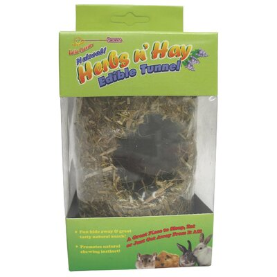 F.M. Browns Wildbird Falfa Cravin Herb N Hay Tunnel for Small Animal