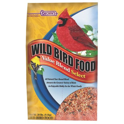 F.M. Browns Wildbird Value Blend Select Wild Bird Food