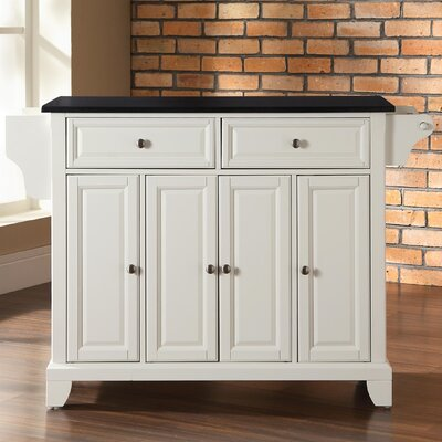 crosley newport kitchen island with granite top amp reviews kitchen island ideas for small kitchens diy rustic