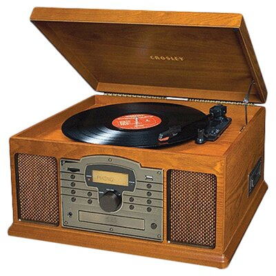 Crosley Troubador Record Player in Paprika