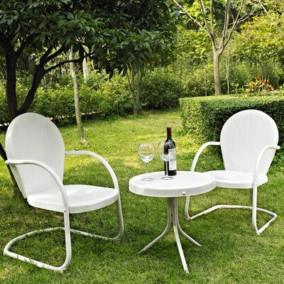 Crosley Griffith 3 Piece Seating Group