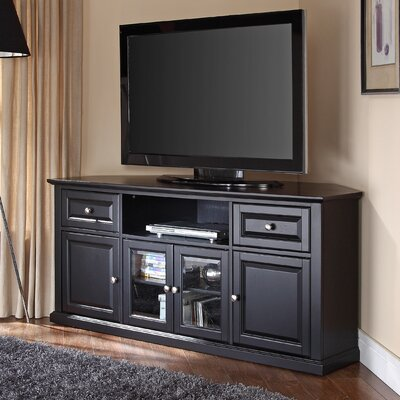 Hokku Designs 60 Quot Corner Tv Stand Amp Reviews Wayfair