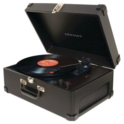 <strong>Crosley</strong> Traveler Turntable in Black