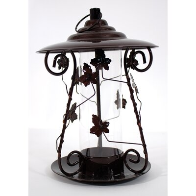 Decorative Leaf Mixed Seed Bird Feeder